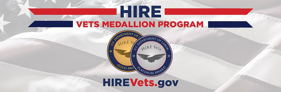 2018 HIRE Vets Medallion Program Demonstration Award